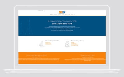Webdesign Windkraft